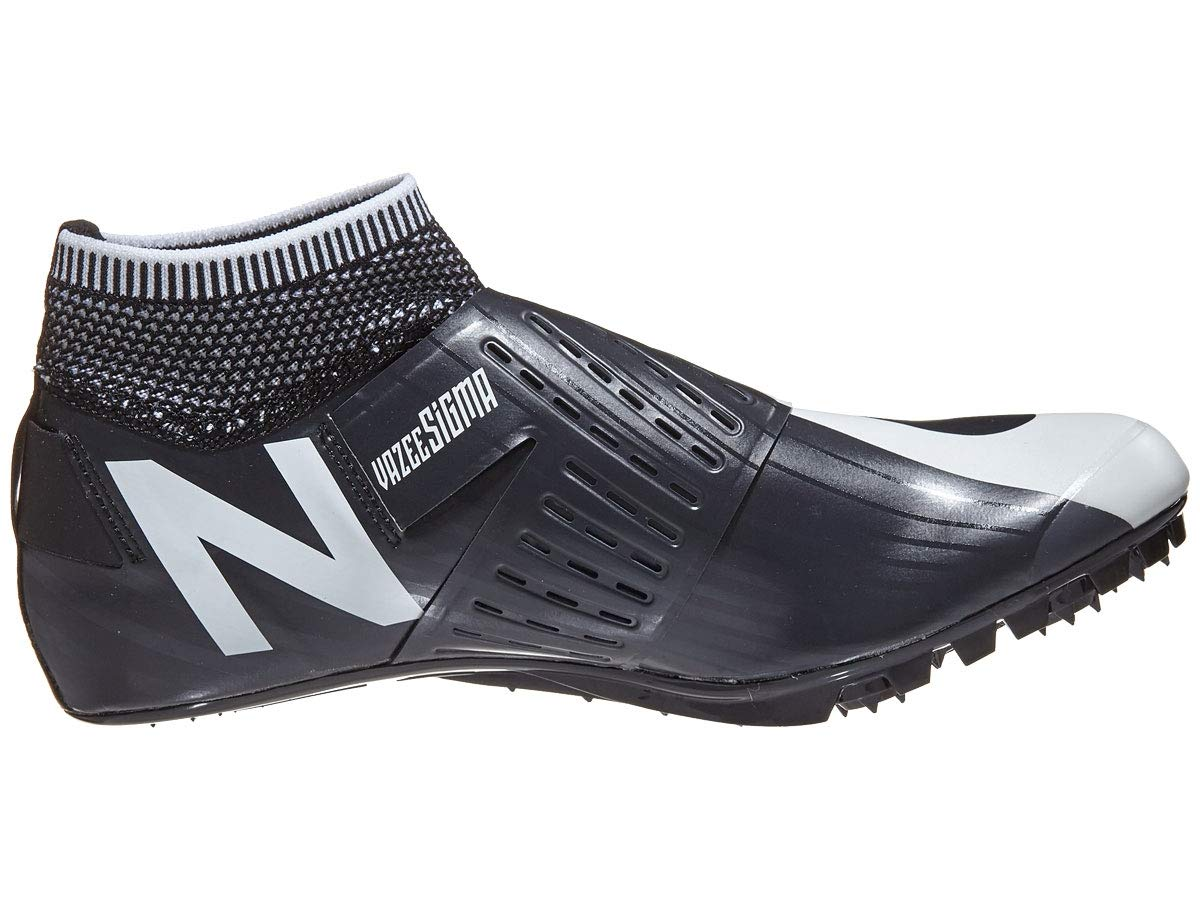 New Balance Men's Sigma V2 Vazee Track Shoe, White/Black, 4.5 D US by New Balance (Image #1)