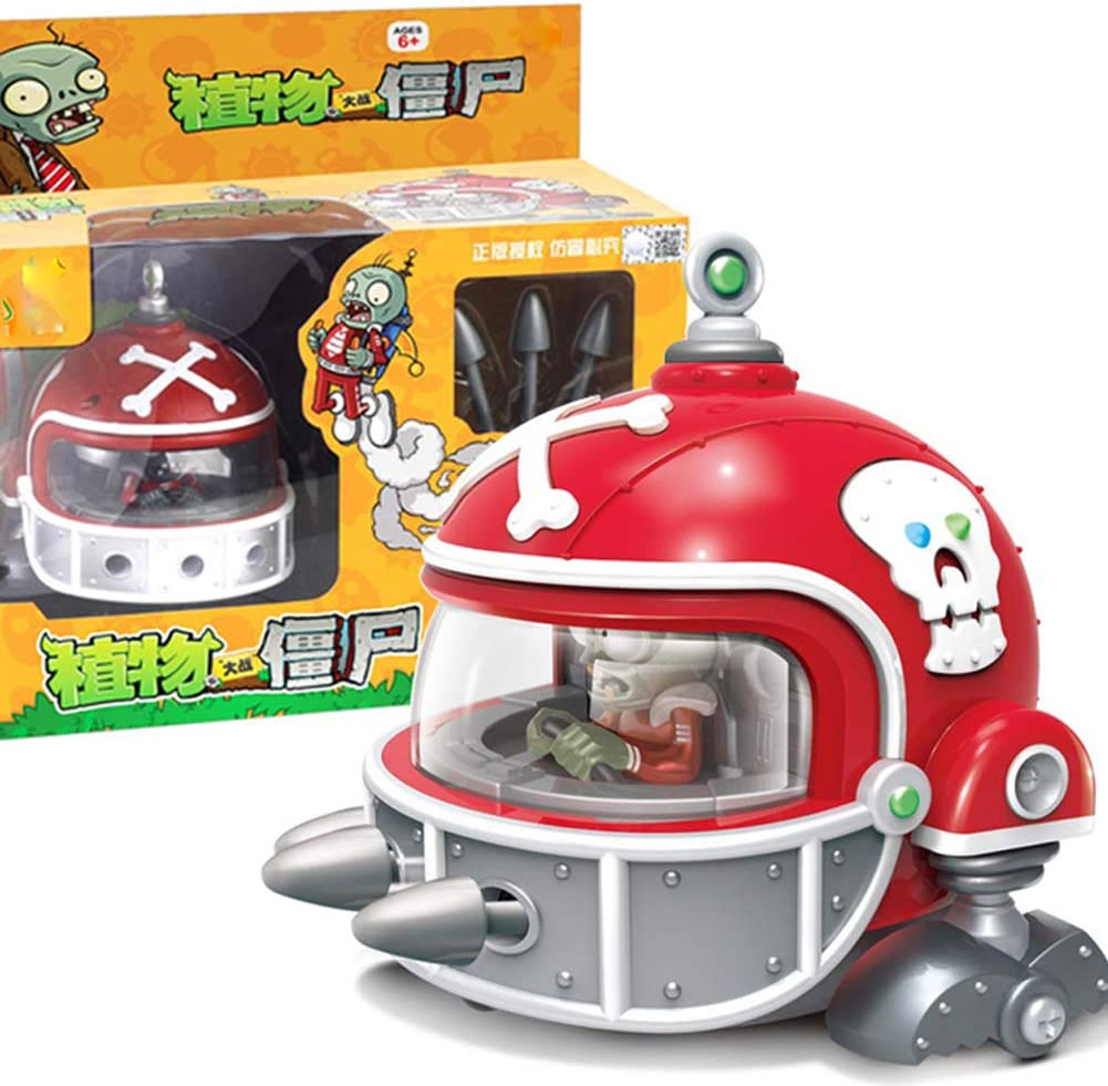 Plants vs Zombies 2 Toys Gift Set for Garden Warfare 2,6,7,8,9,10 Year Old Boy Toys,Olive Chariot