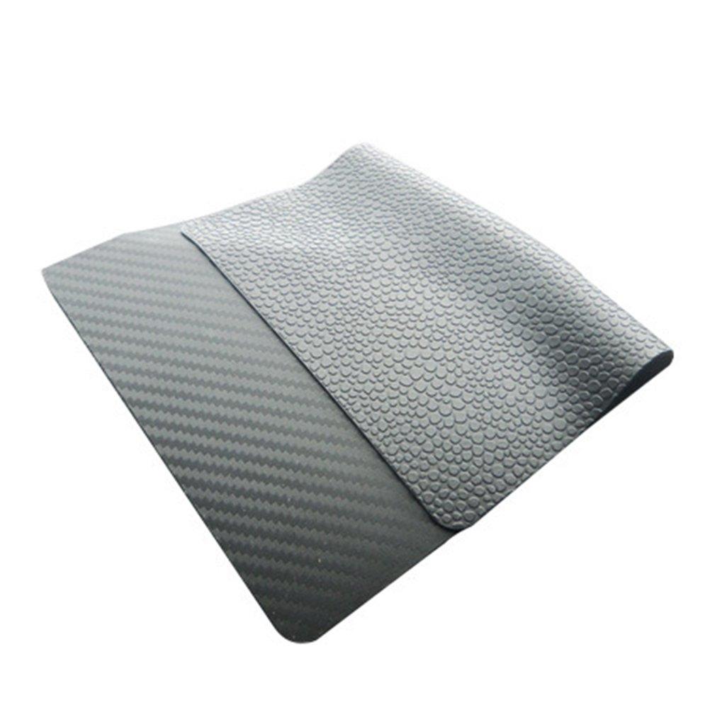 WINOMO Antidérapant Sticky Car Dashboard Pad Support de téléphone portable Gel Mat Adhésif Pad de montage pour Téléphone portable Parfum Bouteille GPS Clés Lunettes de soleil-Noir (225 x 145 x 2mm) 04112960S8