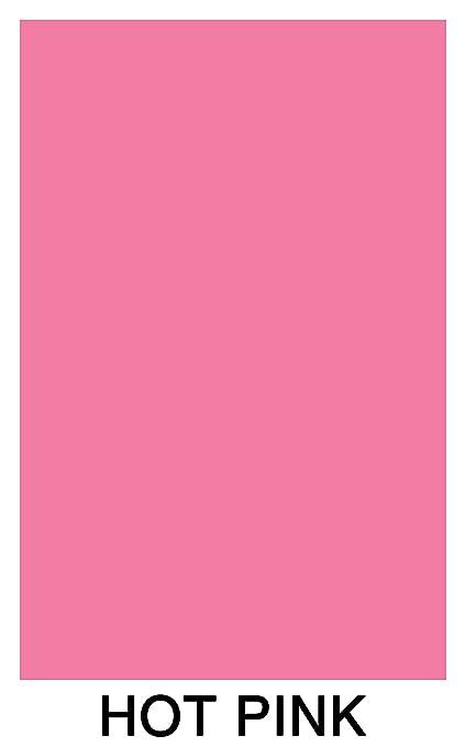Neon Bright Fluorescent Colored Paper   500 Sheets (11 X 17, Hot  Pink/Fuschia)