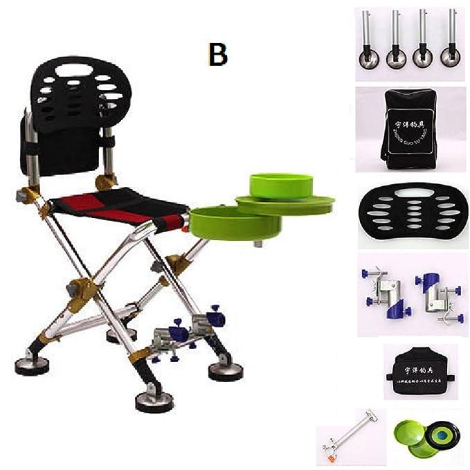 Amazon.com : ZDYYCNC Lightweight Fishing Folding Chair ...