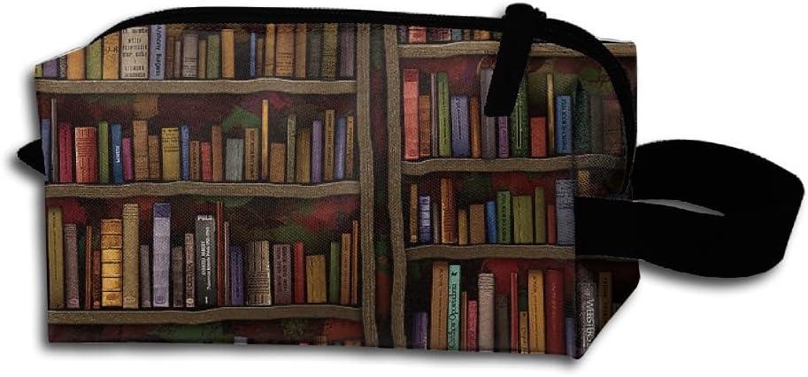 Vintage biblioteca estantería estantería cremallera bolso ...