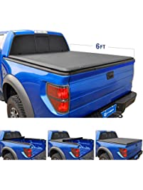 Tyger Auto T1 Roll Up Truck Tonneau Cover TG-BC1N9035 Works with 2005-19 Nissan Frontier 2009-14 Suzuki Equato