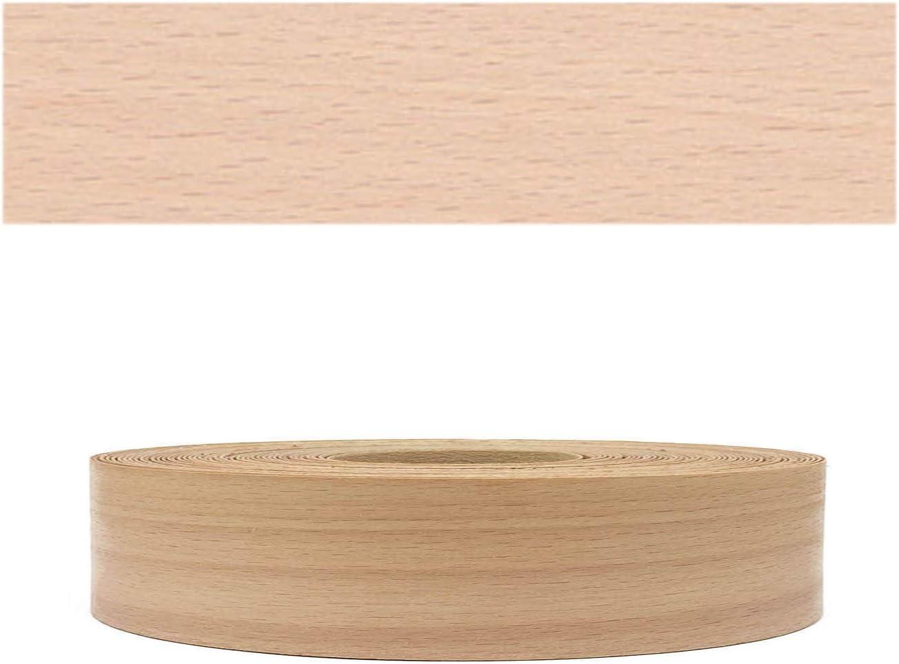 Mprofi MT® (10m rollo) Cantoneras enchapadas con pegamento Chapa de madera Haya europeo SK 22mm