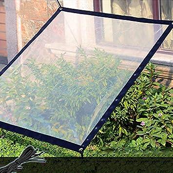 Gartenarbeit 2x2M Angeln LouisaYork klare Wasserdichte Plane PE Abdeckplane f/ür Camping Regendicht Abdeckplane