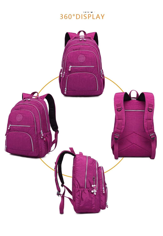 Rucksäcke Frauen Schulrucksack Für Teenager Weibliche damen damen damen Laptop Bagpack Reisetasche lila 31Cmx14Cmx42Cm 989 B07QRZMR9Q Kinderruckscke Billig ideal a2676d