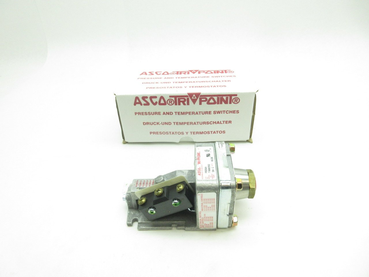 Amazon.com: ASCO PB26A/RL20A21 TRIPOINT Pressure Switch D603188: Industrial & Scientific