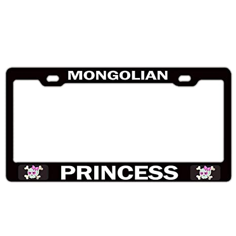 License Plate Covers & Frames Black Aluminum Metal License Plate Frame Auto Tag Holder Custom Car Accessories for US Standard License Plate Covers & Frames