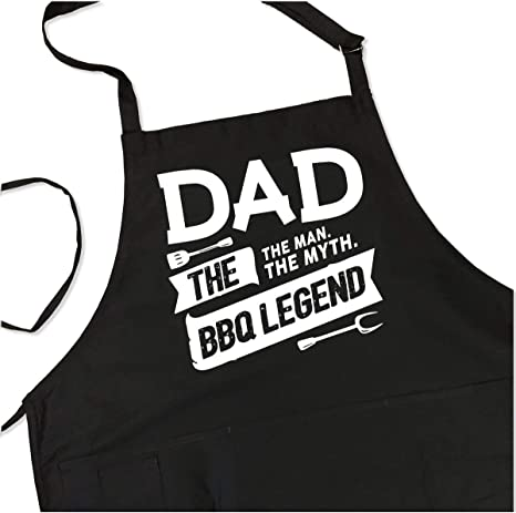 Made Just for Dad,Christmas aprons gift for Dad baking apron Grilling apron gift under 35 dollars,Grill King cooking apron