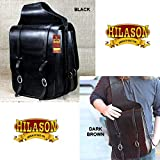 Product review for HILASON WESTERN HEAVY DUTY LEATHER COWBOY TRAIL RIDE HORSE SADDLE BAG