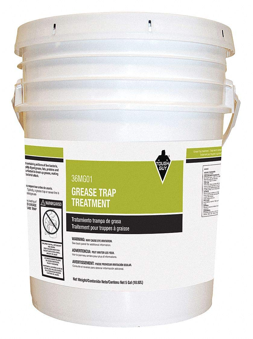 Tough Guy Grease Trap Treatment, 5 gal, Pail
