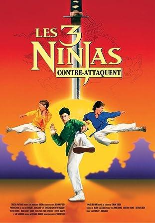 Les 3 ninjas contre-attaquent [Francia] [DVD]: Amazon.es ...