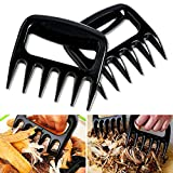 Meat Claws Set of 2 Barbecue Bear Paws Pulled Pork Shredder Claws Easily Lift, Handle, Shred, and Cut Meats BBQ Meat Forks