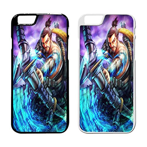 Overwatch Hanzo And Genji 4 IPhone Case Iphone 6 Plus Case or Iphone 6S Plus Black Rubber IB