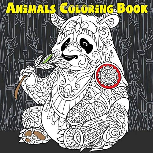 - Animals Coloring Book: Kids Ages 4-8, 8-12 Zentangle Detailed (Coloring  Books For Kids): Publishing, Panista: 9781717831248: Amazon.com: Books