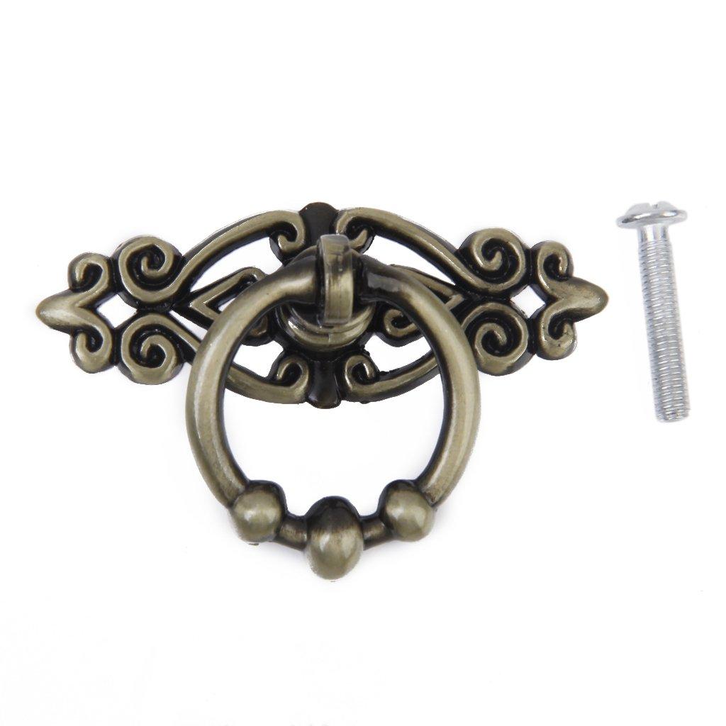 Sharplace Vintage Mö belknopf Mö belgriff Mö belgriffe Mö belknö pfe Single Loch mit Ring