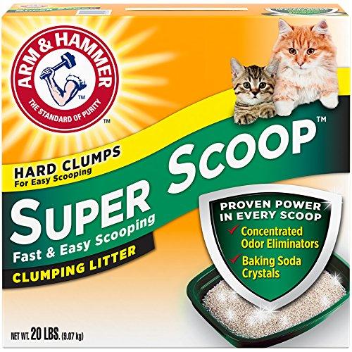 Arm & Hammer Super Scoop Litter, Fresh Scent, 20 Lbs