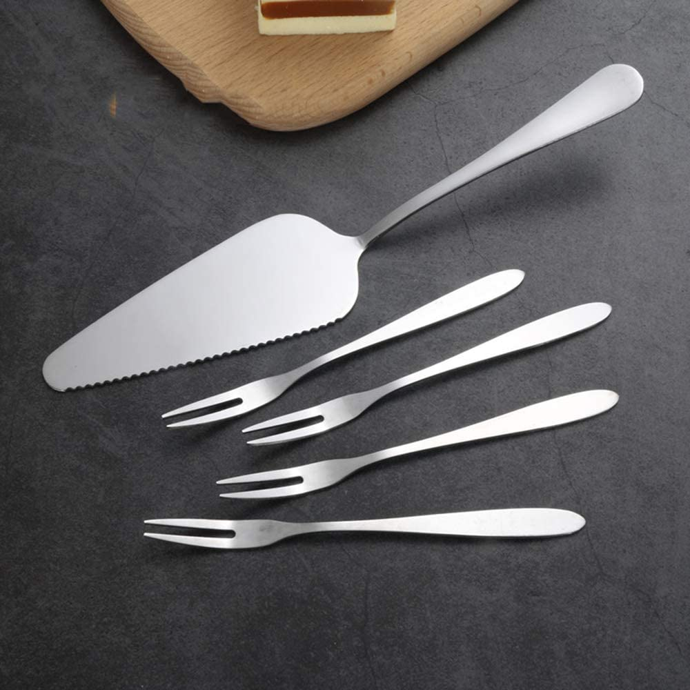 Stainless Steel Pie Cake Server Slicer Pizza Server Style 1 Practical and Popular