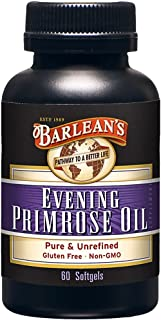 product image for Barlean's Evening Primrose Oil Softgels, 60-Count Bottle