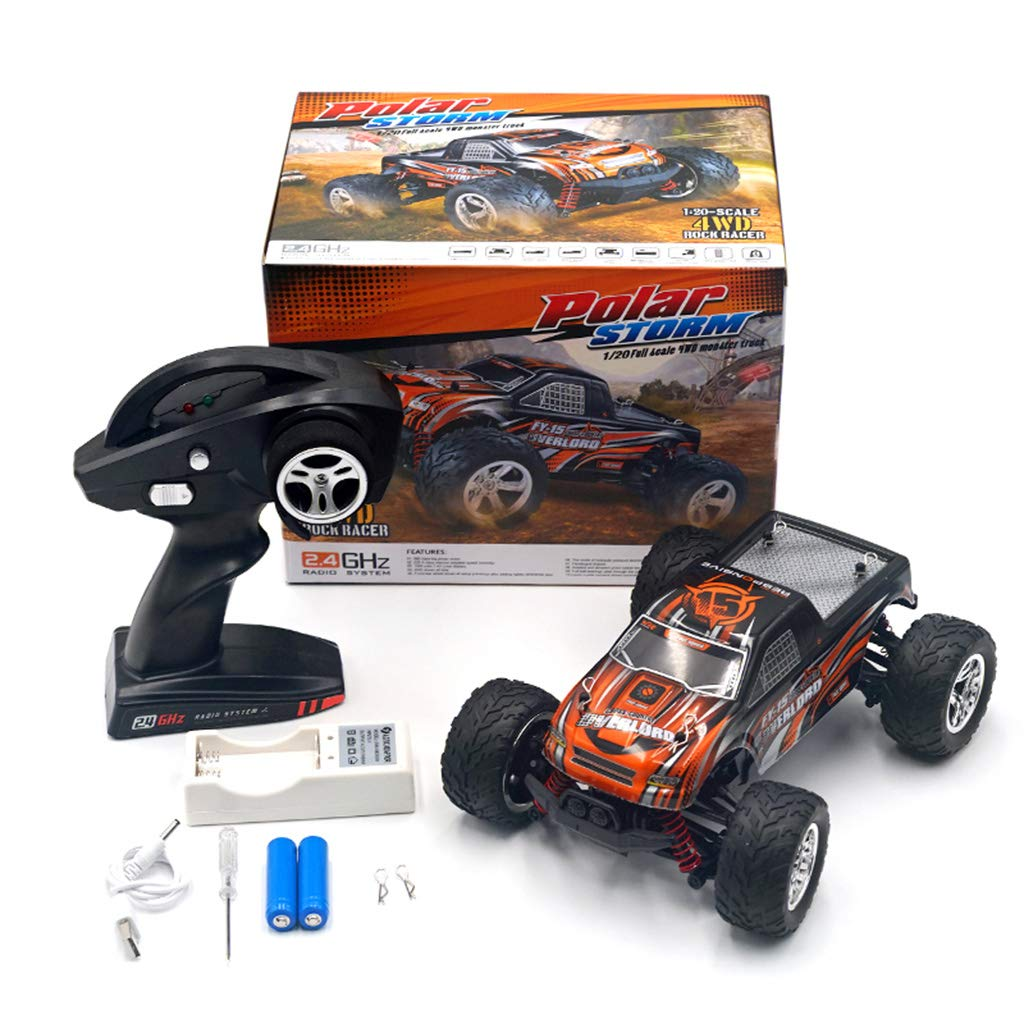 GREEN&RARE Remote car FY15 1 20 Electric Remote Control Car 2.4Ghz 4WD 25km h RTR Offroad Truck High Speed RC Cars Best Gift to your kids