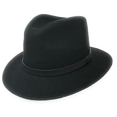f0efb0a6a Amazon.com: Cotswold Country Hats Fedora Hat Wool Felt Crushable ...