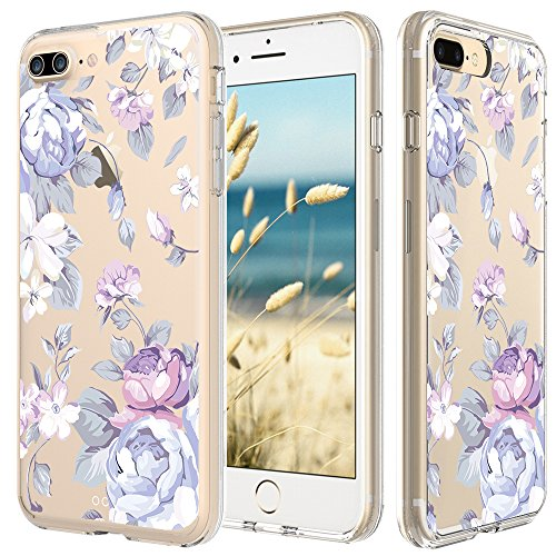 iphone-7-plus-case-55-inch-cinocase-tropical-purple-rose-floral-flower-pattern-clear-case-solid-acry