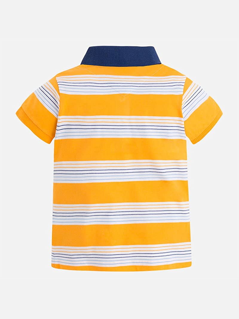 Mayoral S//s Stripes Polo for Boys 3122 Bee