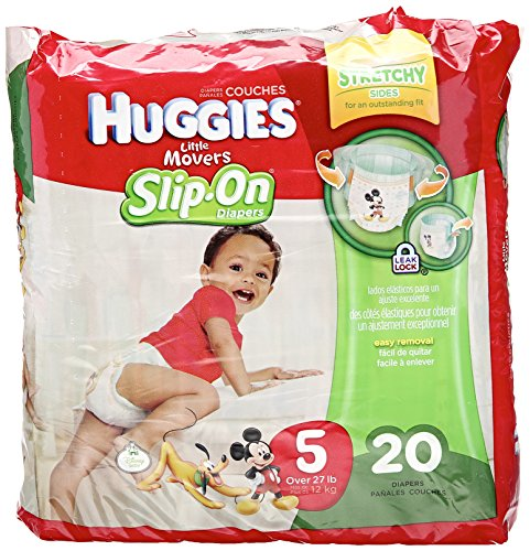 Huggies Little Movers Slip-On Diapers - Size 5 - 20 ct