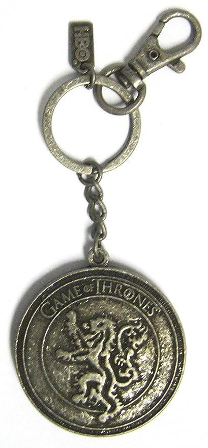 Game of Thrones - Llavero Mujer Hombre unisex plateado plata ...
