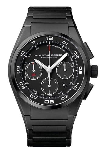 Porsche Design Dashboard automático cronógrafo negro PVD Titanio Mens Reloj Calendario 6620.13.46.0269: Amazon.es: Relojes