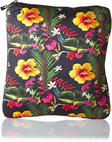 Hurley Women's Apparel Junior's Neoprene Wet-Dry Floral Clutch Purse, multi/color/black QTY