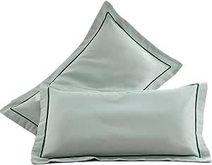 YJS Funda de Almohada de látex Memoria Funda de Almohada de algodón for Adultos 30X50 pequeña Funda de Almohada 40x60 Funda de Almohada de los niños (Color : B, Size : Large)