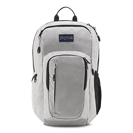 how to purchase Good Prices for sale JanSport JS00T69G3F6 Recruit Laptop Backpack, Grey Heathered Poly