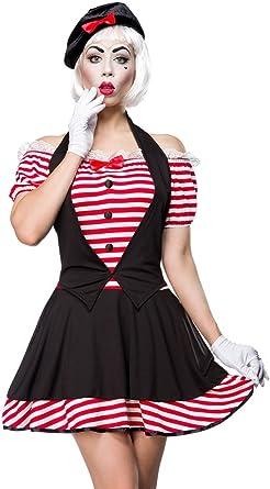 Disfraz de disfraz Pantomima by Mask Paradise con toques Recorte ...