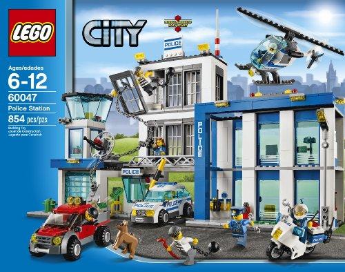 amazoncom lego city police 60047 police station toys games - Lgo City Police