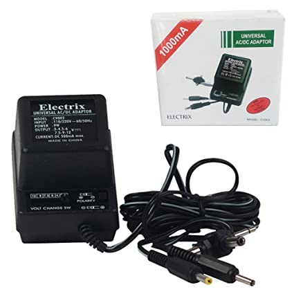 amazon com: universal ac dc adapter adaptor sony 1000ma 1 5 to 12 v: home  audio & theater