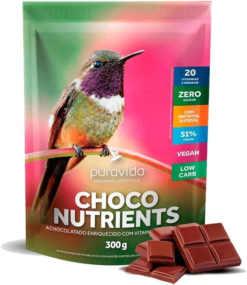 Choco nutrients 300g pura vida por PURAVIDA