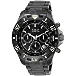 Invicta 6412 Python Collection Reloj de acero inoxidable con pulsera de eslabones para hombre