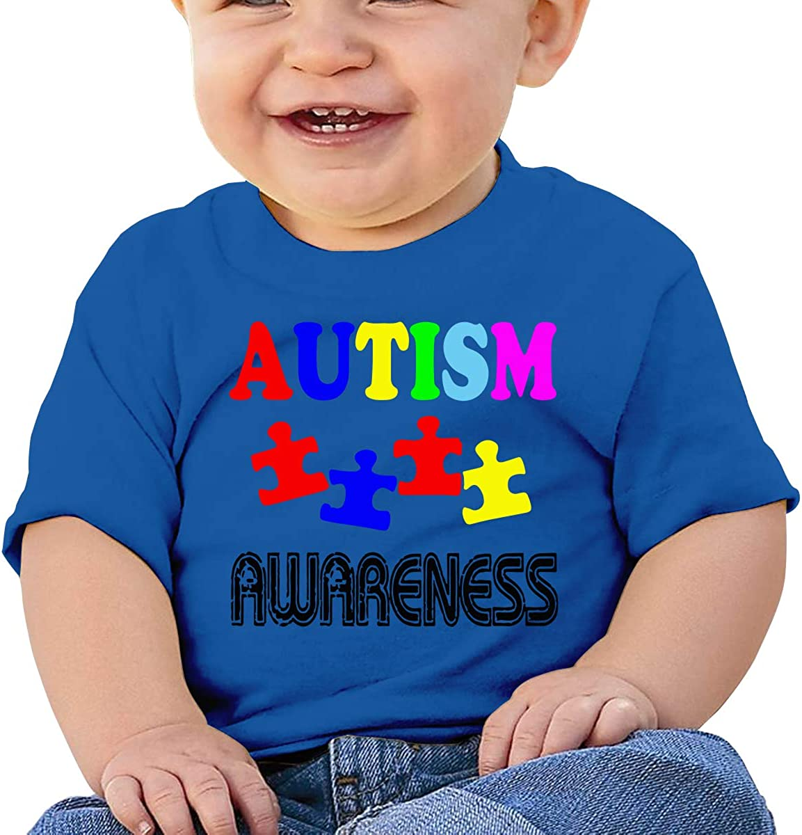 ANYE/&/&HF Autism Awareness Baby Girls T-Shirt