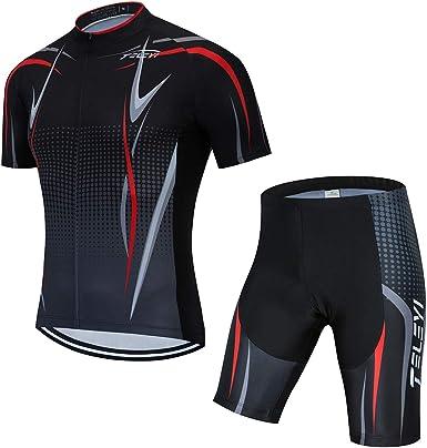 Mens Cycling jersey Short Sleeve bib shorts set cycling shorts cycling jerseys
