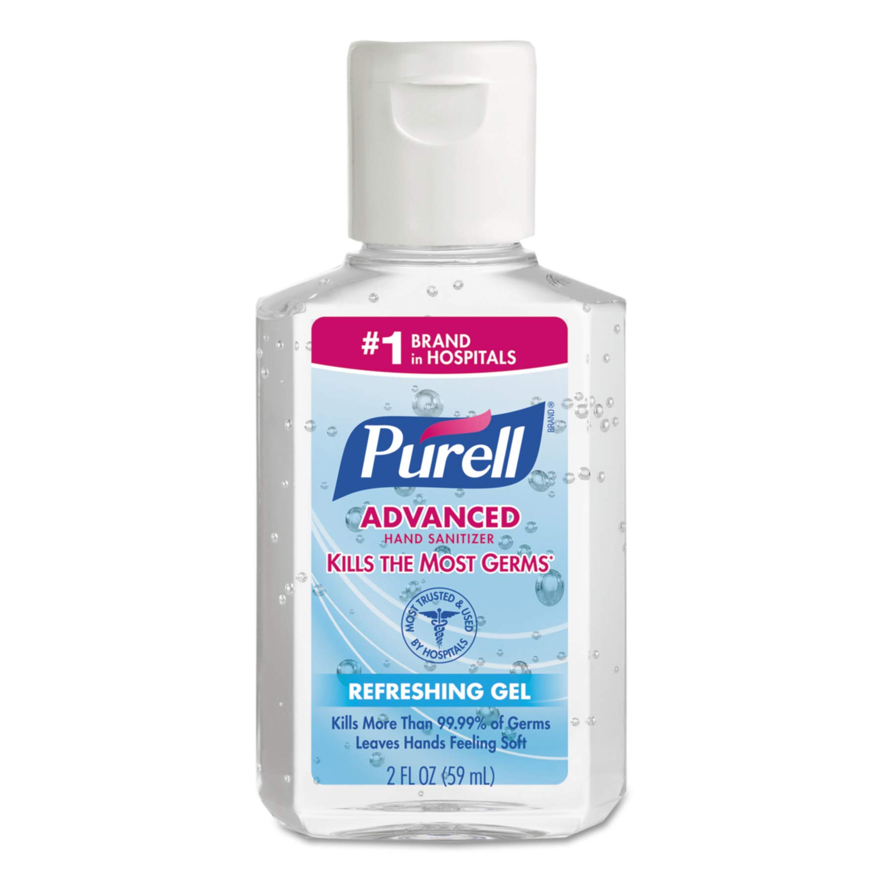 PURELL 960524 Advanced Instant Hand Sanitizer, 2oz, Squeeze Bottle (Case of 24) by Purell
