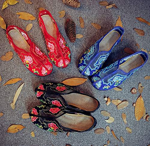 Rouge Chaussures Taille coloré EU Bleu ZHRUI 38 wfEqHw