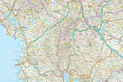 Balcanes Occidentales, mapa impermeable de carreteras. Escala 1:725.000 impermeable. Reise Know-How.: Amazon.es: VV.AA.: Libros