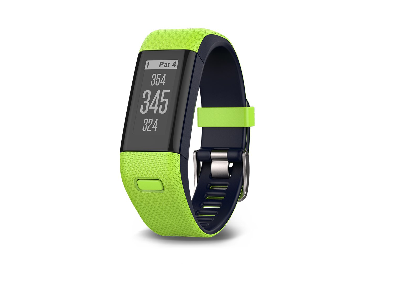 Garmin Approach X40 (Lime) Golf GPS & Fitness Band BUNDLE with PlayBetter USB Car Charge Adapter by Garmin (Image #2)