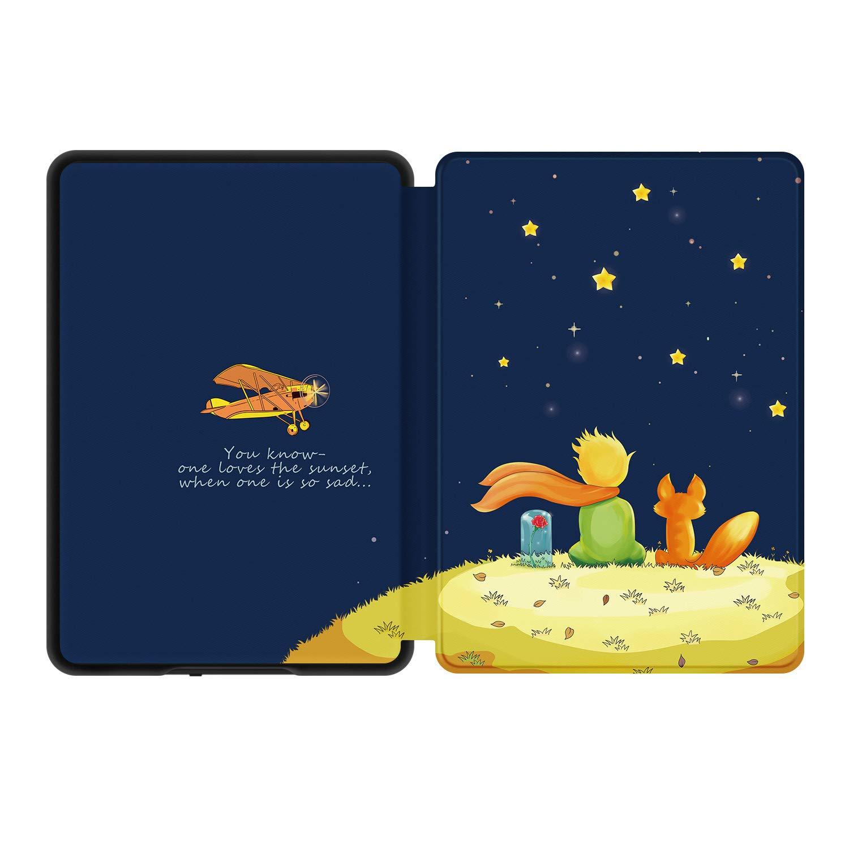- Funda de cuero de PU compatible con el Kindle 2019 de ,The Boy and Fox Estuche Ayotu Slim para Kindle completamente nuevo 10/ª generaci/ón, versi/ón 2019 no encajar/á con Kindle Paperwhite o Kindle Oasis