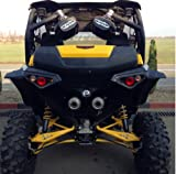 Can Am Maverick u0026 Maverick Max Super Extended Fender Flares/mudguards #715001323 & Amazon.com: SuperATV Can-Am Maverick Rear Cargo Box: Automotive Aboutintivar.Com