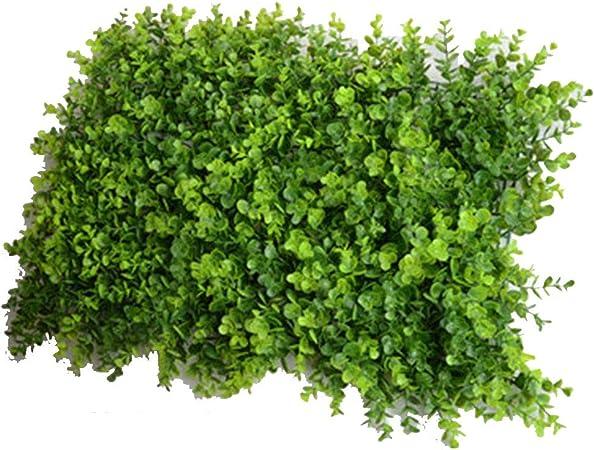 LVZAIXI Seto De Privacidad Artificial Fondo De Decoración De Pared Jardín Cerca Boda Patio Terraza Camino Puerta Espejo (Color : A, Size : 40x60cm): Amazon.es: Hogar