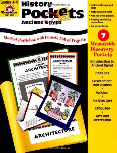 Amazon.com: History Pockets: Ancient Egypt - Grades 4-6+ ...