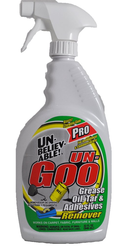 Unbelievable Pro Un-Goo Grease, Oil, Tar & Adhesives Remover, 32oz.