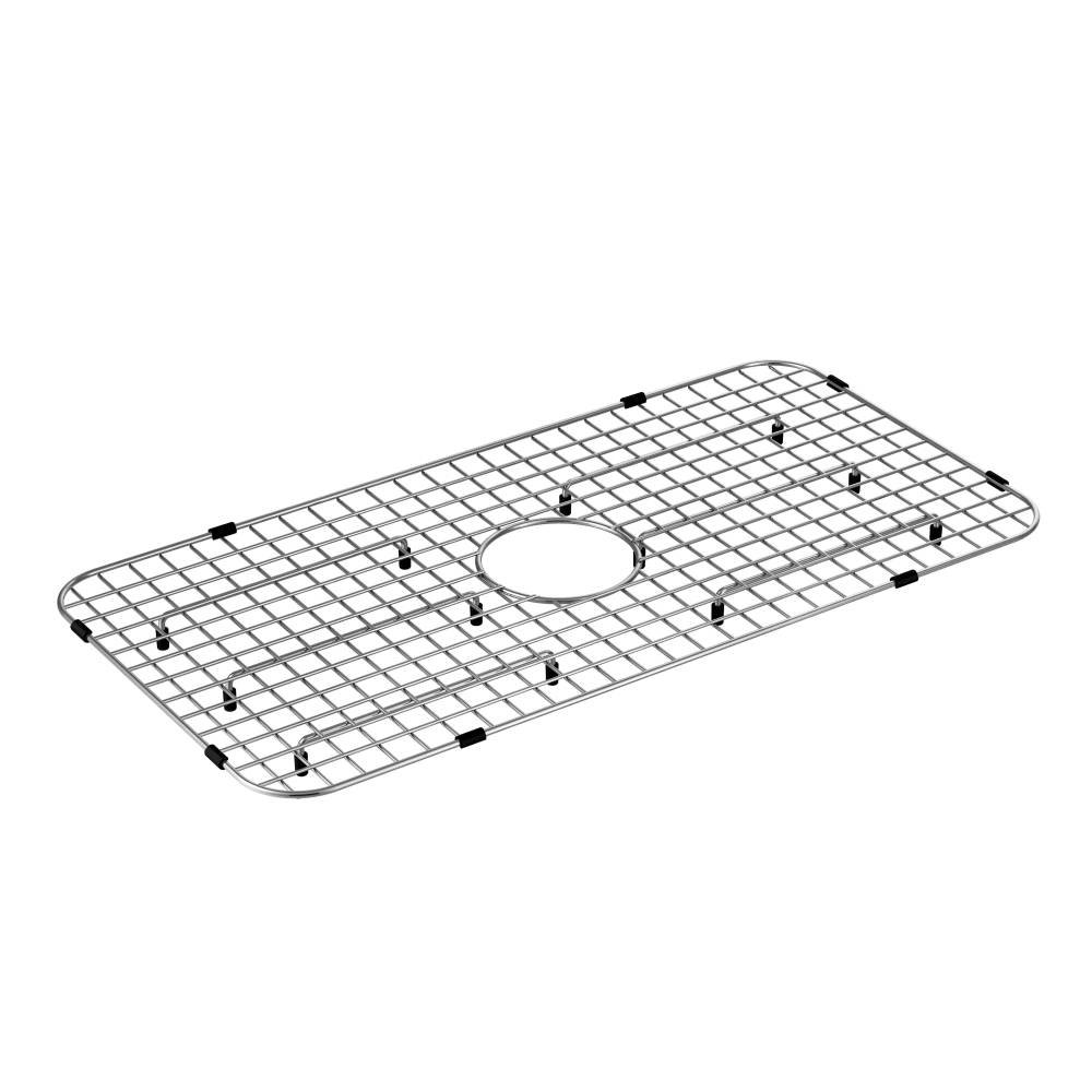Moen GA719 Stainless Steel Center Drain Bottom Grid Sink Accessory 29-Inch X 16-Inch, Stainless by Moen (Image #1)